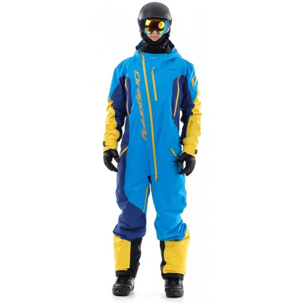 DRAGONFLY OVERALL SKI PREMIUM MEN BLUE-YELLOW
