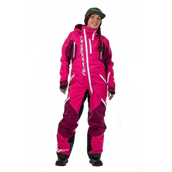 DRAGONFLY OVERALL SKI PREMIUM WOMEN PURPLE