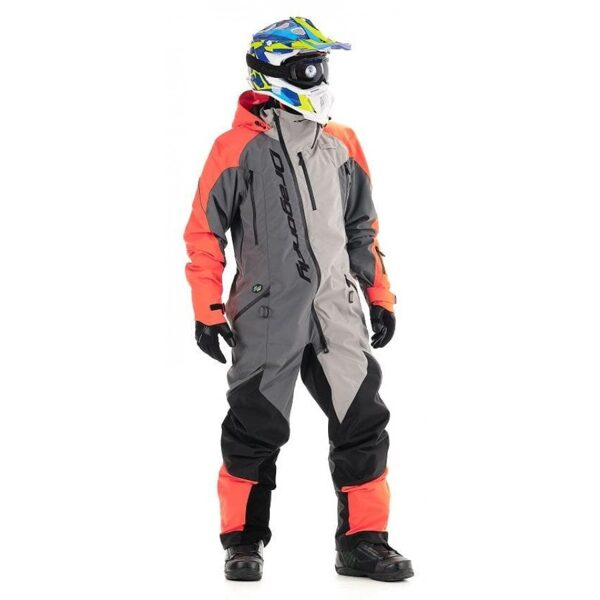DRAGONFLY OVERALL EXTREME MEN ORANGE-GREY