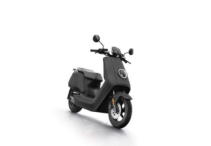 NIU NQi Sport electric scooter, matte gray
