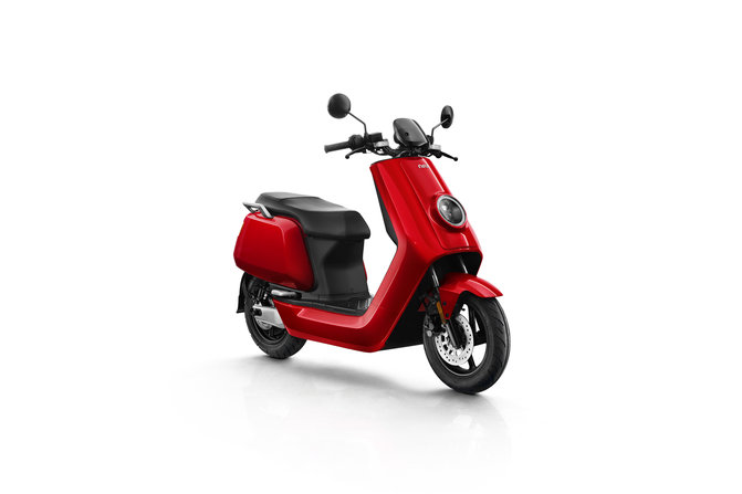 NIU NQi Sport electric scooter, red