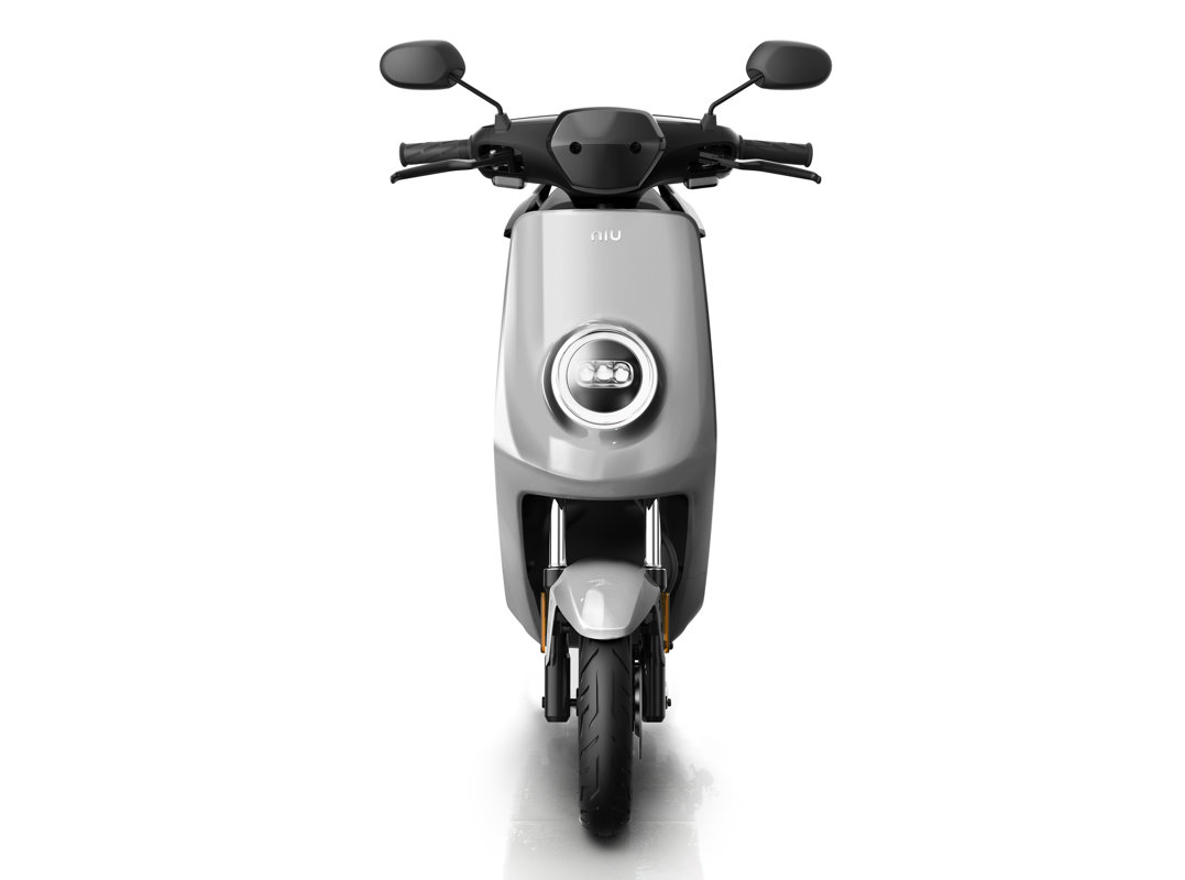 NIU MQi+ Sport electric scooter, silver