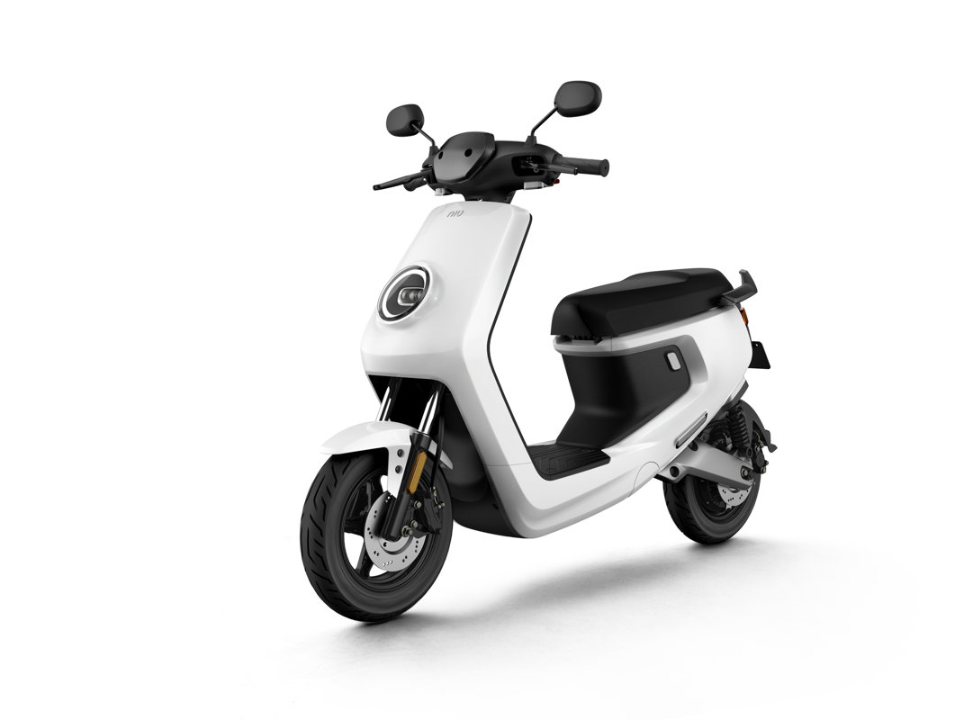 NIU MQi+ Sport electric scooter, white