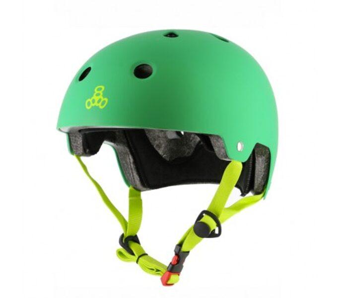 Triple Eight Brainsaver шлем, зеленый