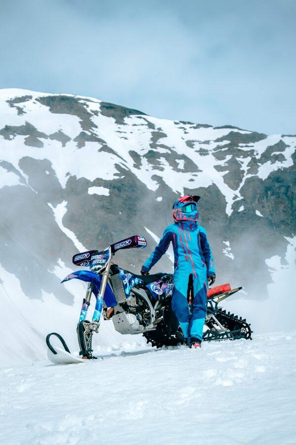 Dragonfly Overall EXTREME vīriešu kopējais kombinezons snovbordam un citām ziemas aktivitātēm, ZILS